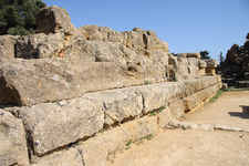Temple Of Zeus Ruins - Agrigento - Italy