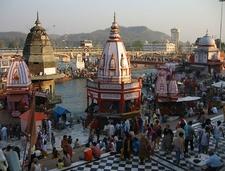 Temples At Har Ki Pauri