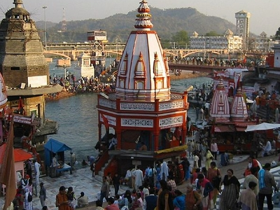 Temples At Har Ki Pauri