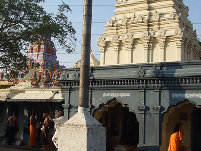 Temples Front View