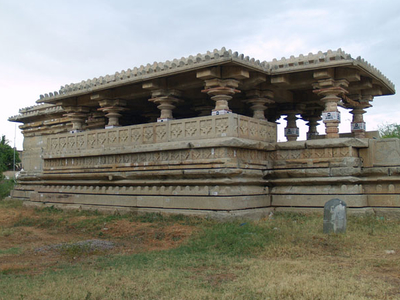 Temples Side View