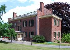 Ten Broeck Mansion Back