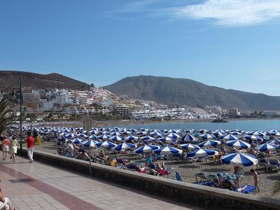 Tenerife Cristianos Beach  B