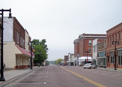 Tenth Street In Downtown Worthington