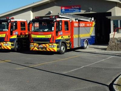 Te Puke Fire Brigade Station