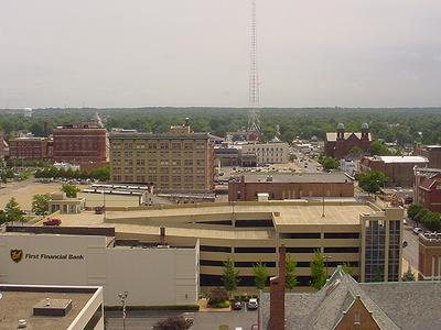 Terre Haute   Downtown  Lookingeast