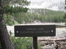 Terresa Lake Sign