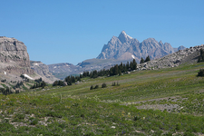 Teton Crest Trail At Grand Tetons - Wyoming - USA