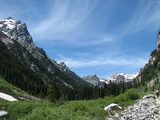 Teton Valley Trail Views - Grand Tetons - Wyoming - USA