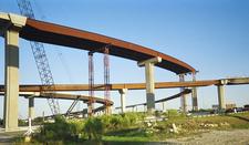 Interchange Of Interstate 35 And State Highway 45 Under Constru