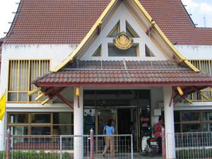 Los agricultores de arroz tailandés Museo Nacional