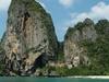 Thaiwand Wall And Phra Nang Beach