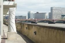 Thames Path Near Vauxhall Bridge