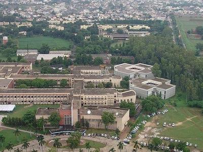 Thapar Campus Aerial View