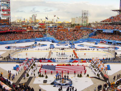 The 2012 NHL Winter Classic At Citizens Bank Park