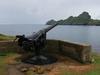 The 4-inch QF Gun On Hirta