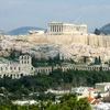 The Acropolis Of Athens Seen From Philopappou Hill
