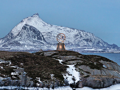 The Arctic Circle Cuts Through Nordland