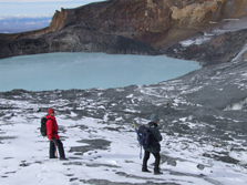 The Area Of Mt Ruapehu Around The Crater Is A High Risk Zone