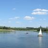 The Artificial Lake Bachmaty