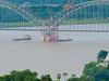 The Ava Bridge On The Irrawaddy