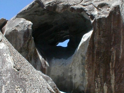 Rock Formation At The Baths