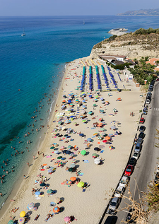 The Beach As Seen From Santa Maria Dell'Isola