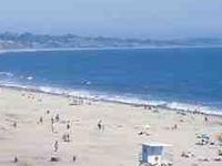 Capitola City Beach y el muelle