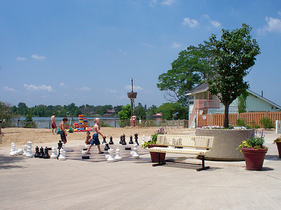 The Beach At Wildwater Kingdom