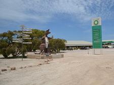 The Big Kangaroo At Border Village