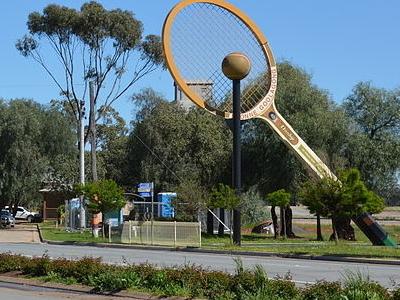 The Big Tennis Racquet