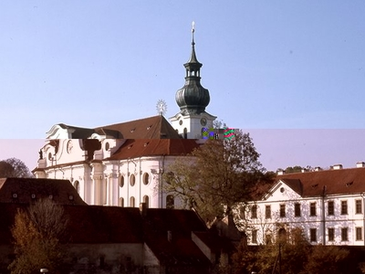 Another View Of Břevnov Monastery