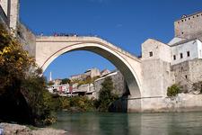 The Bridge At Mostar