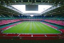 Interior View Of Millennium Stadium