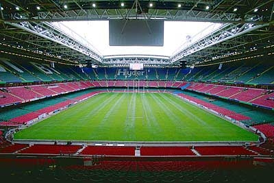 Interior View Of Millennium Stadium