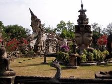 The Buddha Park Near Vientiane