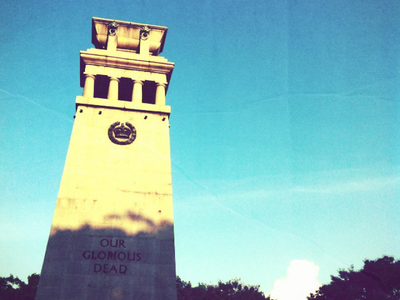 The Cenotaph - Downtown Singapore