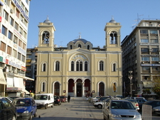 The Churches Of St. Nicholas Left And Sts. Constantine And Helen