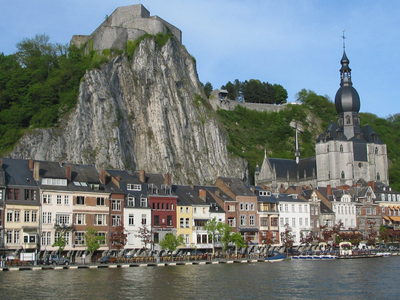 The Citadel The Collegiate Church And The Meuse.