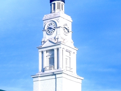 The Clark County Court House Clock
