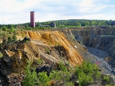 Mining Area Of Great Copper Mountain In Falun