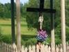 A Crucifix In Village