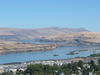 The Dalles And The Columbia River As Seen From Kelly Viewpoint
