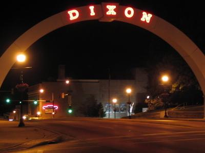 The Dixon Memorial Arch.
