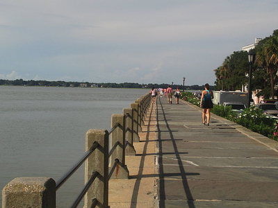 The Downtown Charleston Waterfront