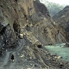 The Dushanbe - Khorugh Highway