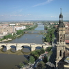 The Ebro River In Zaragoza