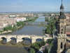 The Ebro River In Zaragoza