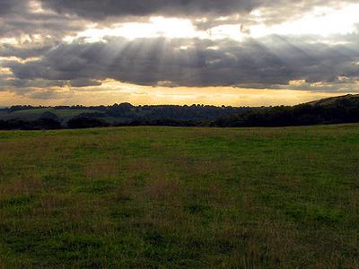 The Edge Of Walbury Hill