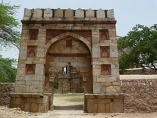 The Entrance Gate To The Mosque